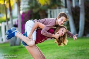 siblings photography huntington beach