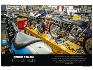 Mule Motorcycles - Moto Revue Classic 2016