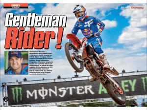 Ryan Dungey - MX Magazine