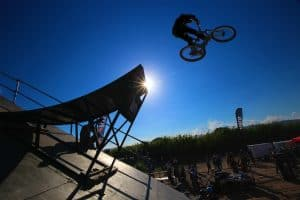 outdoor BMX photography