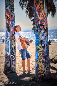 Guitar venice beach lifestyle photography