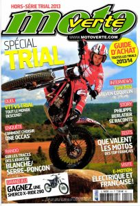 MX Magazine - Loris Gubian cover