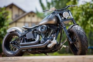 classic harley motorcycle photography