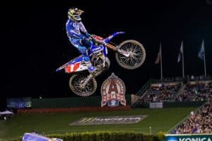 supercross action jump photography