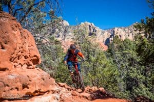 outdoor MTB photography sedona
