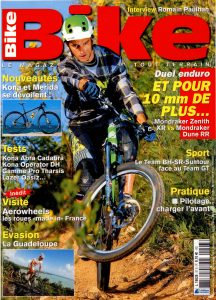 Bike Magazine - Kona cover
